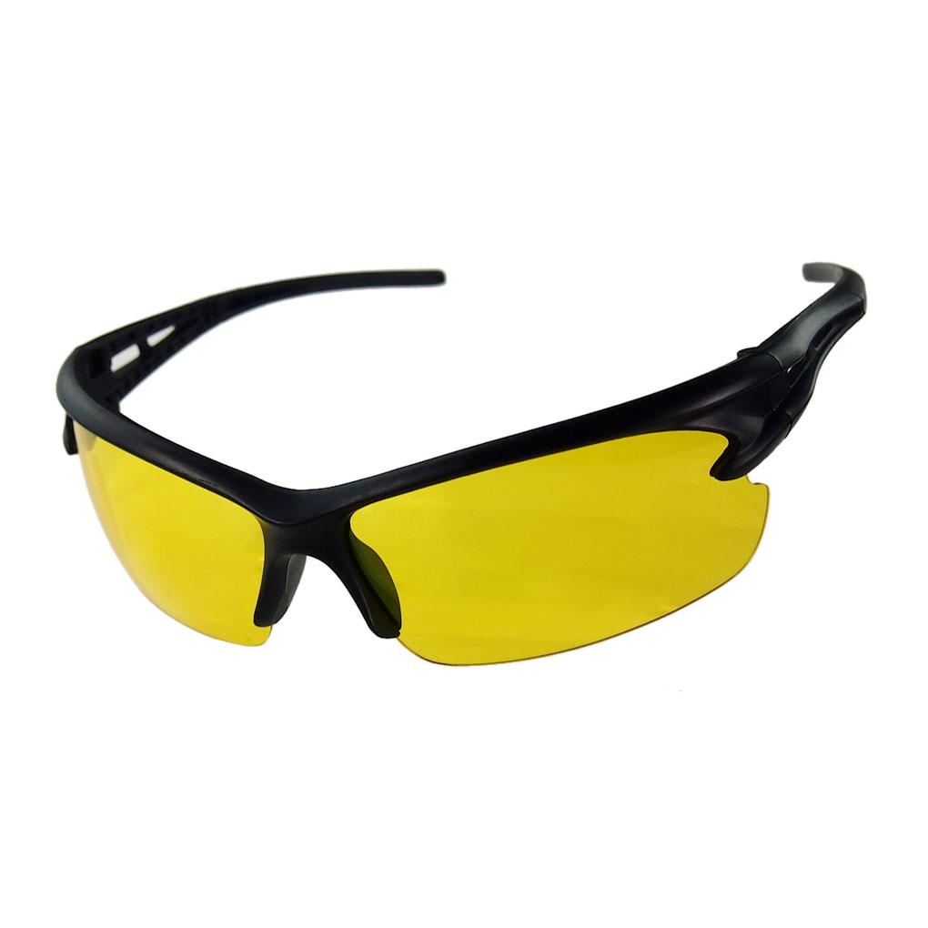 8141db1b1e Night Driving Glasses Anti Glare Glasses For Safety Driving Sunglasses  Yellow Lens Night Vision Goggles Prescription Sunglasses Online Black  Sunglasses From ...