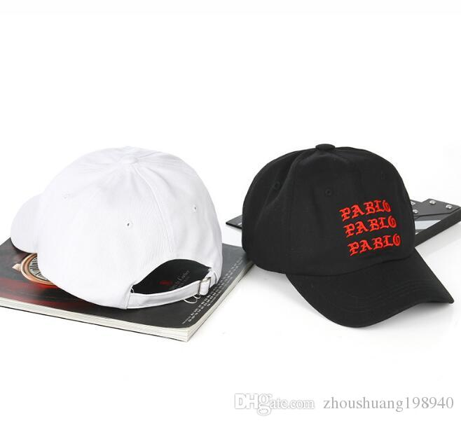 2018 New I Feel Like Pablo Red Hat Dad Baseball Cap Kanye West 350 Boost  TLOP Men Women Snapback Cap Hats Cheap Hats Richardson Caps From Zcy188 d8ccc1e1113