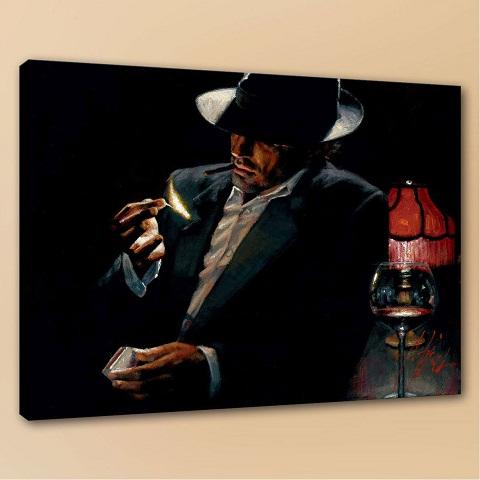 office deco. 2018 Office Deco Fabian Perez Man Lighting Cigarette Ii Handpainted Wall  Decor Art Oil Painting On Canvas Multi Sizes Available Frame P171 From N888, Office Deco