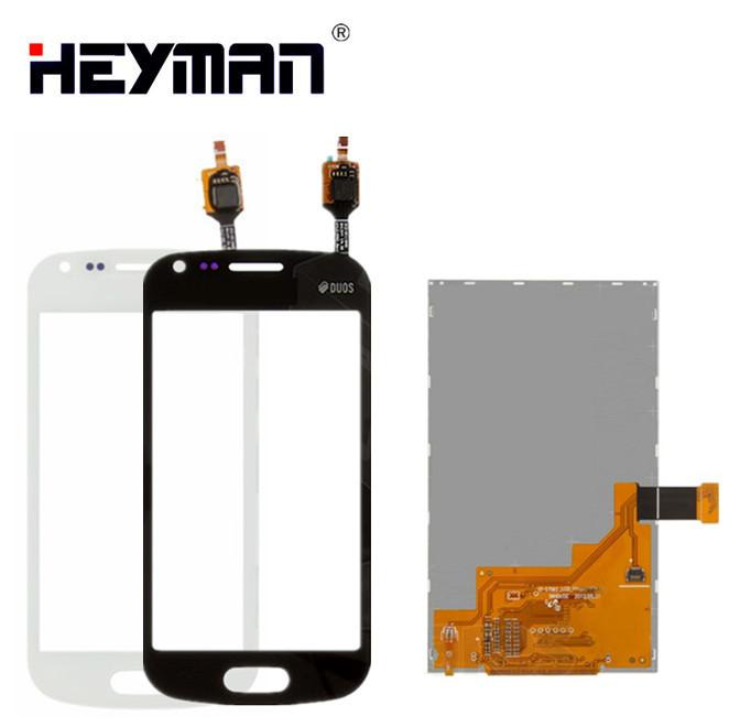 LCD with Touchscreen for Samsung Galaxy Trend Plus Duos S7582 GT-S7582 LCD display screen Digitizer Glass Panel Front Replacement parts