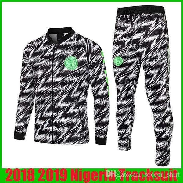 Compre Chándal Nigeria 2019 Chaqueta De Fútbol De Manga Larga Estampado De  Leopardo IWOBI Jerseys 18 19 Nigeria Chándal De Fútbol De Entrenamiento  Uniforme ... fd4fd69770a53