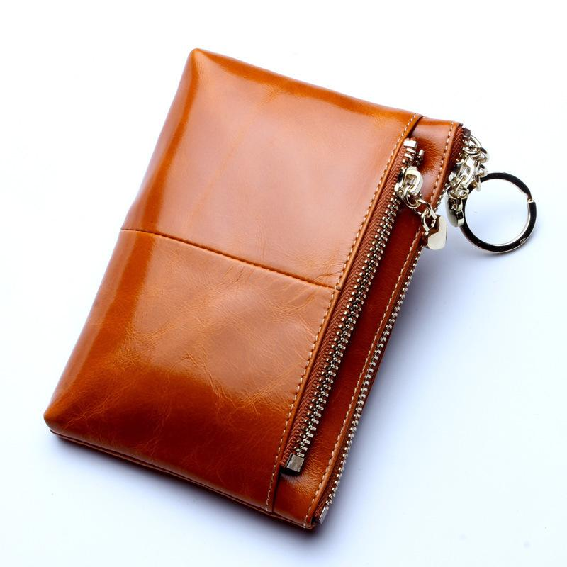 6bc30dfd2f Ladies Genuine Leather Small Wallet Women Coin Bag Men Womens Wallets and  Purses Small Clutch Bag Carteira Feminina Men s Wallet