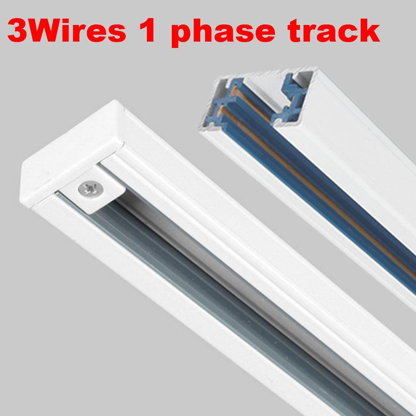 2018 light track led light rail aluminum tracks 1 phase circuit 3 2018 light track led light rail aluminum tracks 1 phase circuit 3 wires track accessories from burty 2441 dhgate aloadofball Choice Image