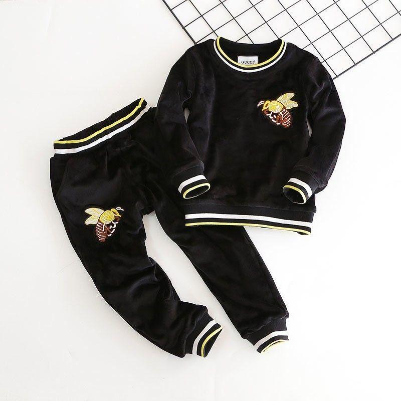 c246196398e3 Children Suit Winter New Pattern Korean Increase Down Girl Twinset ...