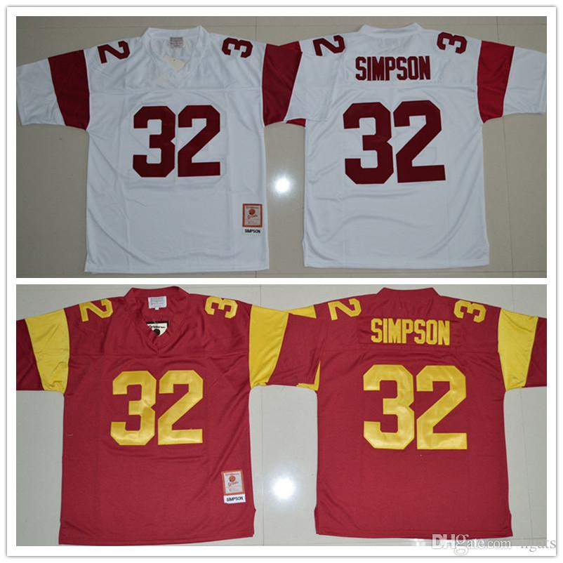 c3d118d65 ... low price 2018 2017 top selling o.j simpson usc trojans jerseys 32 o.j  simpson jerseys red