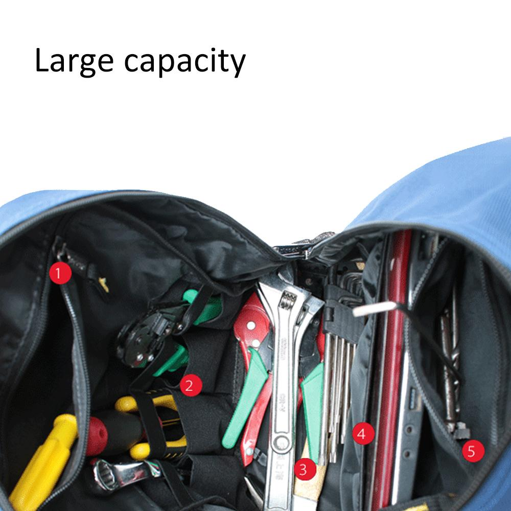 Multi-Use Tools Backpack Thicken Oxford Electrician Repair Tool Bag Hardware Toolkit Repair Large Toolkit