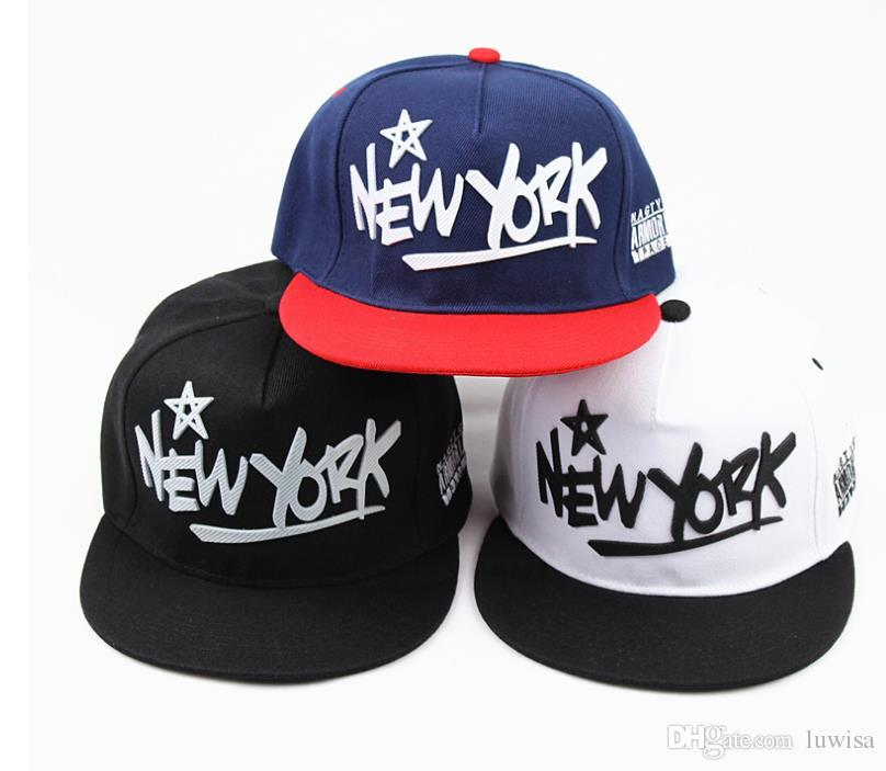 4dabbb0463c 2018 New York Baseball Cap Brand Ny Cotton Adjustable Flat Baseball Cap  Flag Snapback Hats Hip Hop Caps Unisex Back Mens Caps La Cap From Luwisa