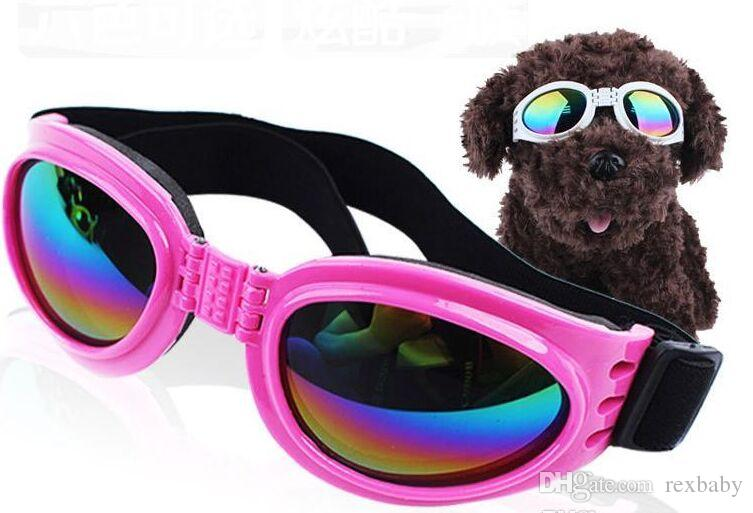 Foldable Pet Glasses Dog Sunglasses for Small Medium Large Dogs UV Eye Protection Glasses Doggles Grooming Accessories