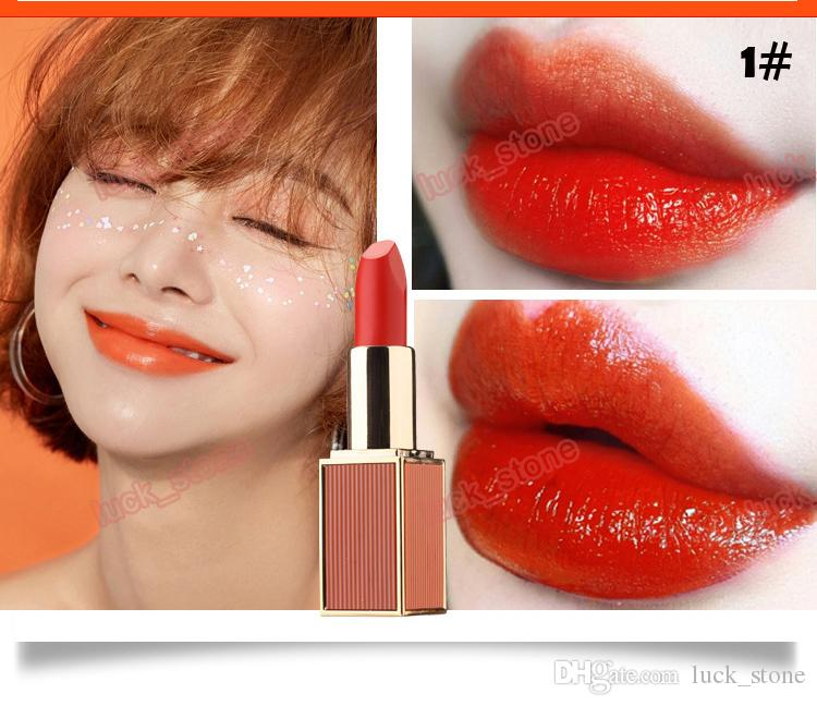 Your private label lipstick 6 color new moisturizing lip gloss rouge matte  mcosmetics makeup make your own lipstick matte lipstick OEM