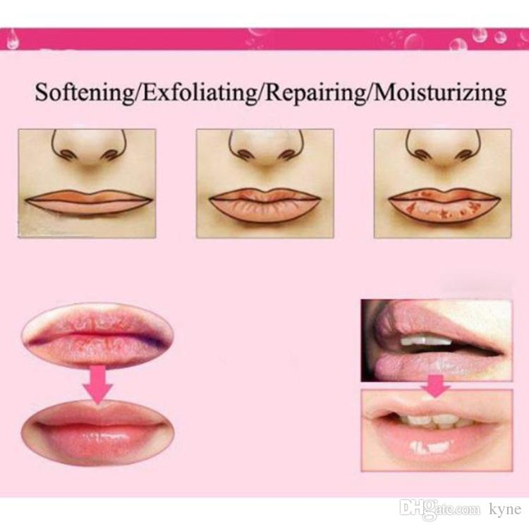 Hot Moisture Lip Masks Crystal Collagen Nano Gold Downplay Corneous Moisturizing Lip Mask Lips Care Pads Lip