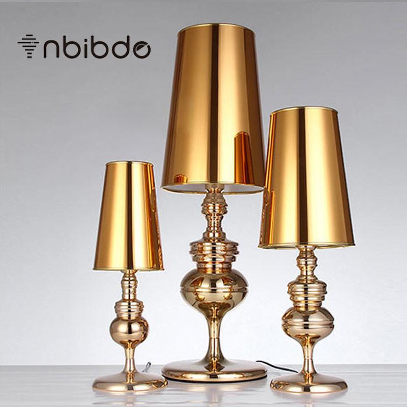 Lampada da tavolo moderna della lampada della camera da letto del difensore  spagnolo breve moderno Lampada da tavolo di luce soggiorno luci di nozze