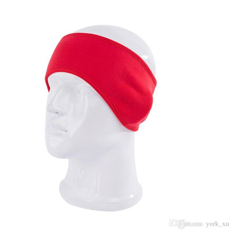 En gros hiver cache-oreilles bandeau oreille unisexe plus chaud polaire bande de cheveux bandeaux chaud ski oreille chauffe out330