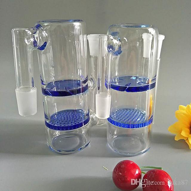 Conversión combinada de Hookah de vidrio Doble Sinterización DISCO Y TURBINA AC-008