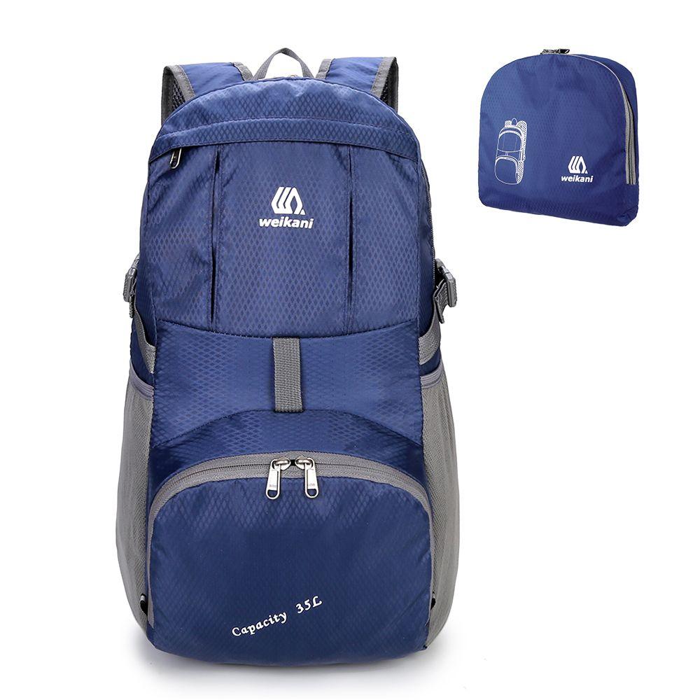 4ece695f628d Weikani Lightweight Nylon Foldable Backpack Waterproof Outdoor Backpack  Sports Folding Bag Men Women Travel Hiking Backpack Summer Maternity  Dresses Online ...