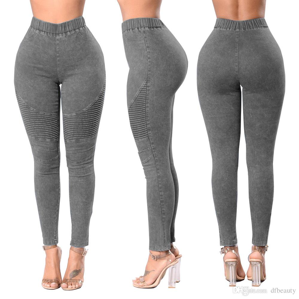 625d0c45b625c Hot Sell Women Jeans Push Up High Waist Hips Jeans Skinny Trousers Fashion  Clothing Spring Summer Pencil Jeans Women Jeans Trousers Sexy Skinny Jeans  Hole ...