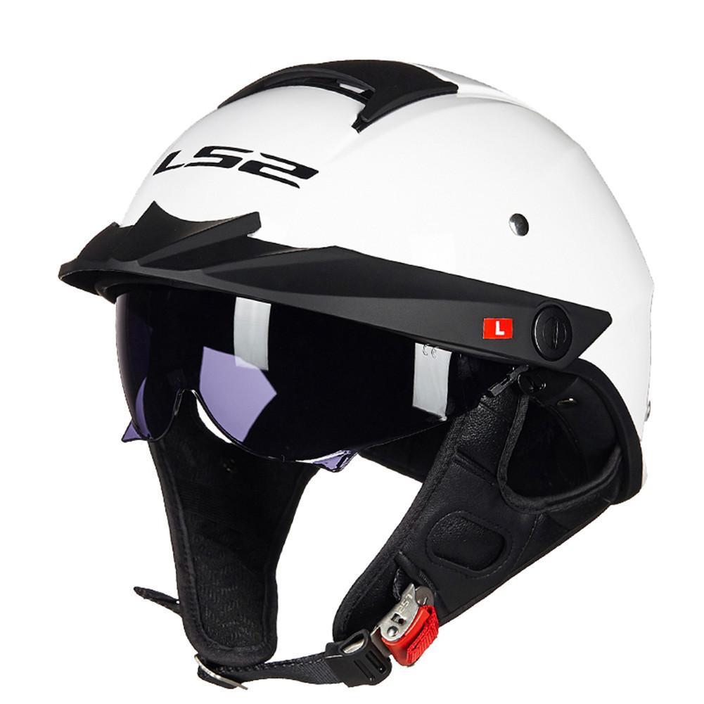 Motorcycle Helmet Brands >> Ls2 Harley Rebellion Hh590 Half Motorcycle Helmet Vintage Helmets Chopper Pilot Retro Helmets Casque Casco Moto Es Helm