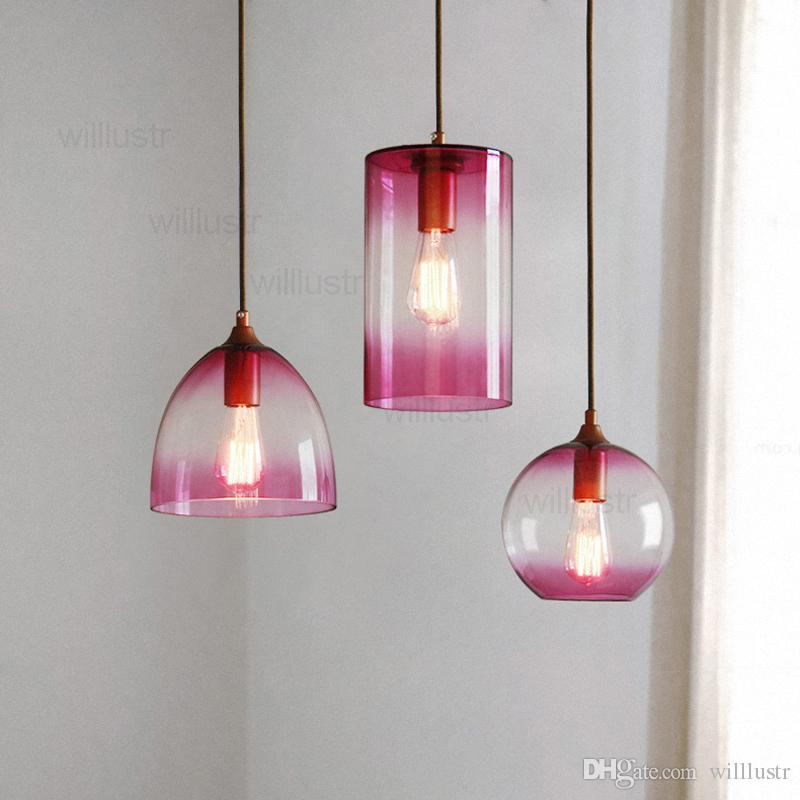 willlustr color glass shade pendant lamp 10 Meilleur De Suspension Couleur