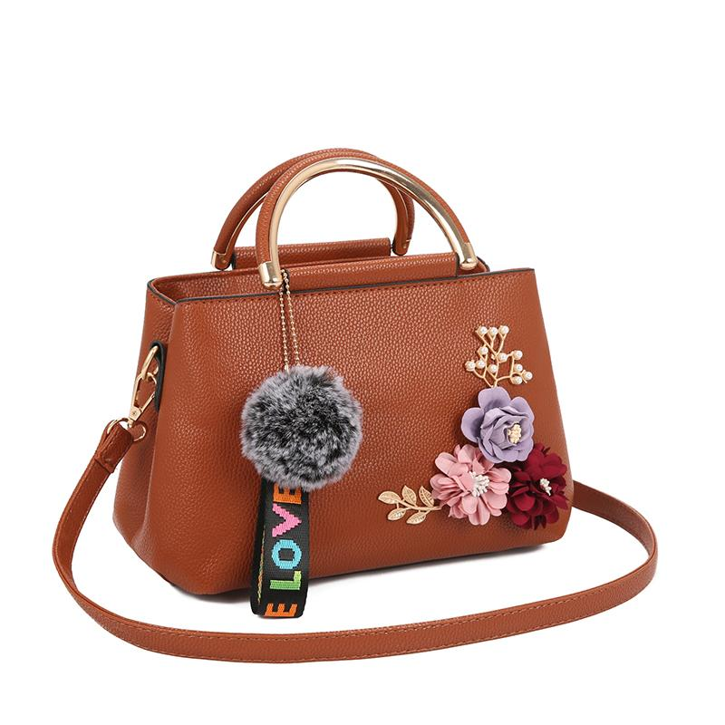 98dc96eb9850 TweetBird Women Hand Bags 2018 Fashion And Popular With Hairball Ladies Bag  Shopper Bag Crossbody Bags For Women Bolsos Mujer Over The Shoulder Bags  Hobo ...