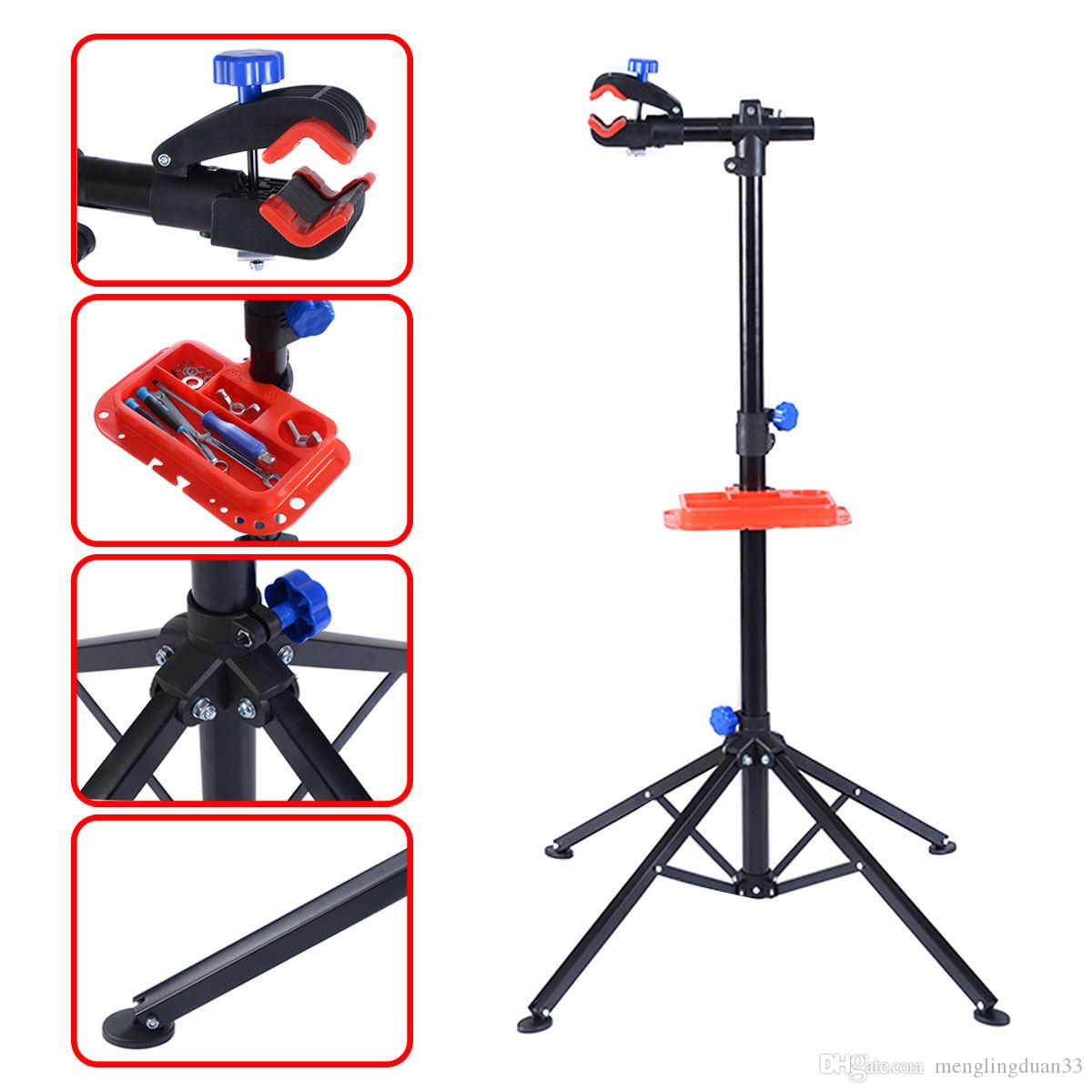 """1Pc Pro Bike 41/"""" to 75/'/' Adjustable Bicycle Rack Repair Stand with Tool Tray"""