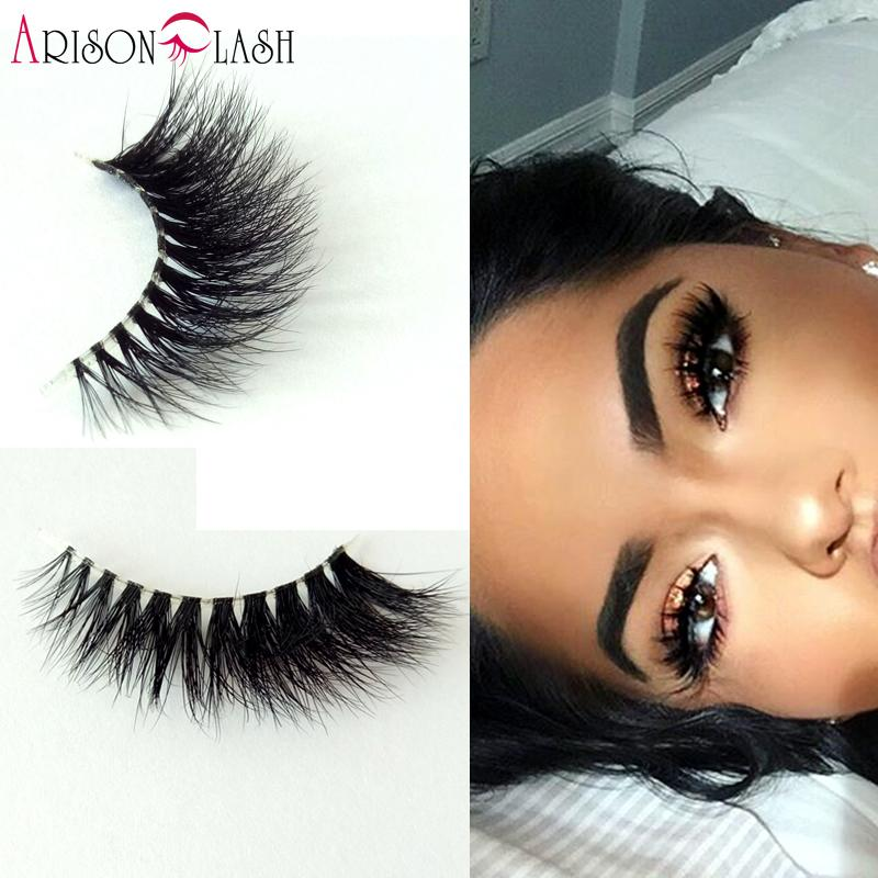 2ca4901407b Full Strip Lashes 3D Mink Transparent Plastic Lashes 100% Real Siberian  Mink Strip Eyelashes False Eyelashes Free Ship False Lashes Eyelash Growth  From ...