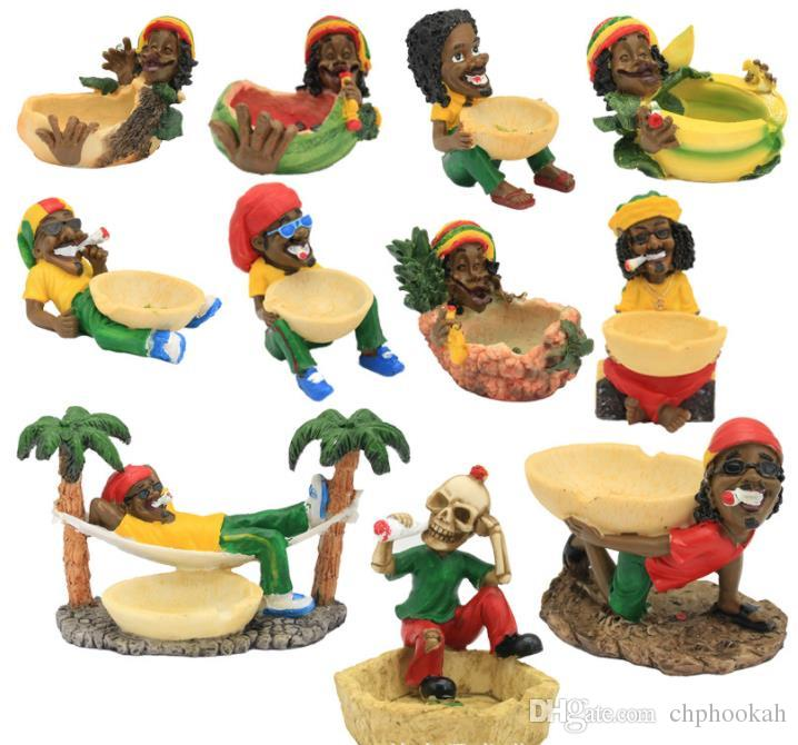 Creative crafts, resin ashtray, household ornaments, personal modeling, smoking set wholesale.