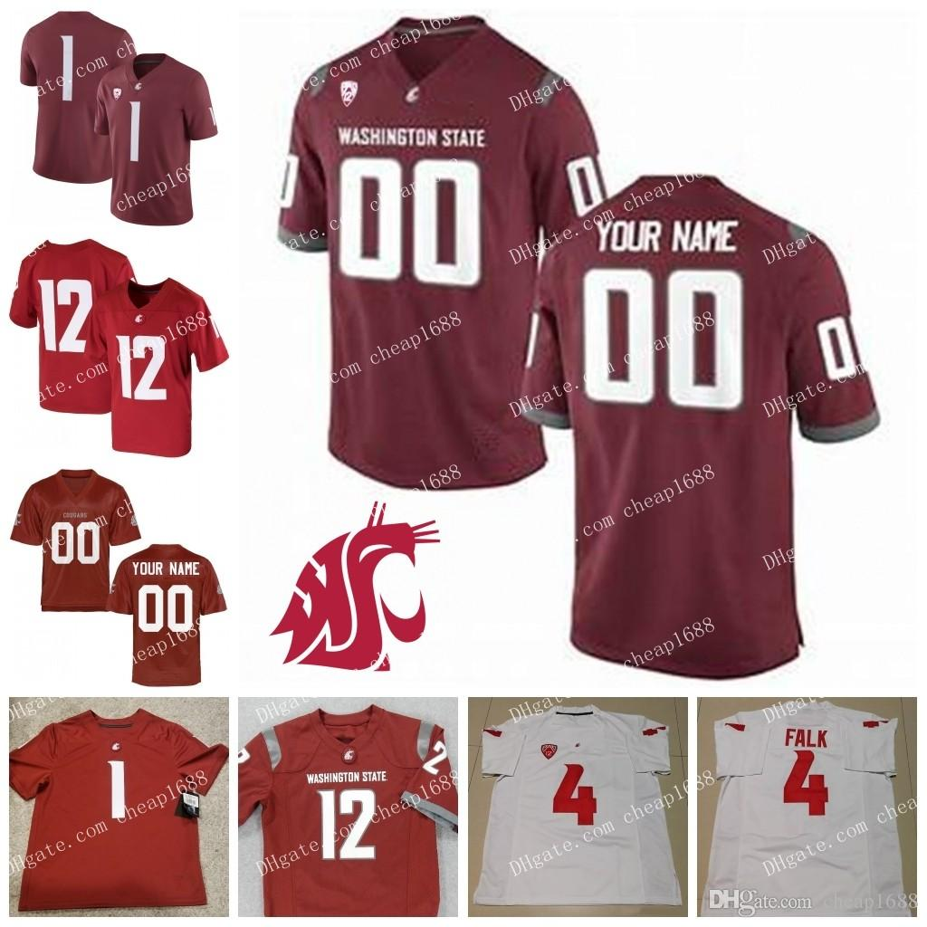 2019 Custom Washington State Cougars 3 Tyler Hilinski 16 Gardner Minshew II  32 James Williams Stitched Any Name Number WSU College Football Jerse From  ... 46d5c6573
