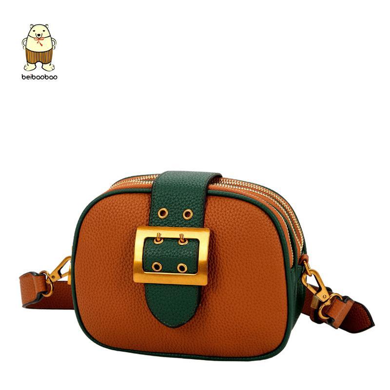 Beibaobao 2018 Panelled Pu Leather Women Handbags Fashion Shoulder Bags  Female Crossbody Bag Lady High Quality Flap Design Bags Shoulder Bags Cheap  Shoulder ... 0e0d501870fe6