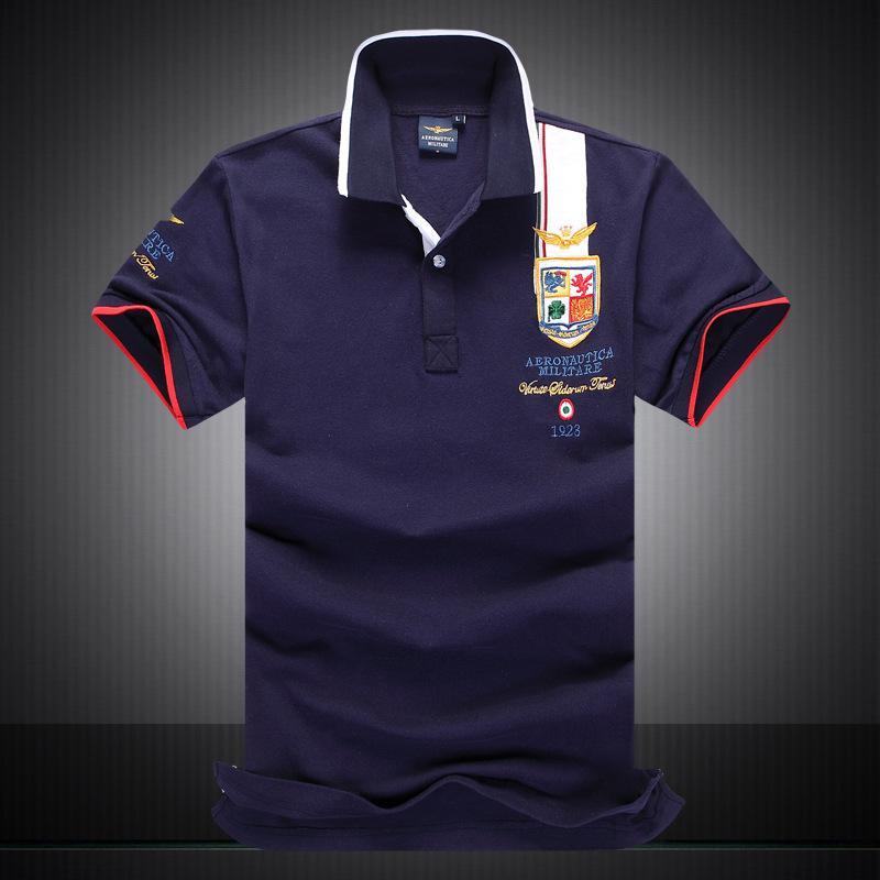 Compre 2018 Marca Designer Camisas Polo Camisa Dos Homens T De Luxo Bordado  Cavalheiro Polo High Street Moda Quick Dry + Respirável Camisas De Polo De  ... ff80a3cab7262