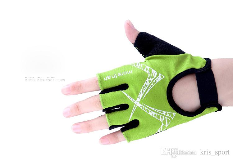 Half finger sports gloves spring and summer fitness cycling men's outdoor antiskid breathable and shock absorbing bicycle products 024
