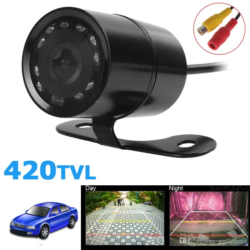 Universal PC1030 420TVL Night Vision Car Front View Camera 120 Degree Wide Angle Waterproof Auto Reversing Parking CAL_037