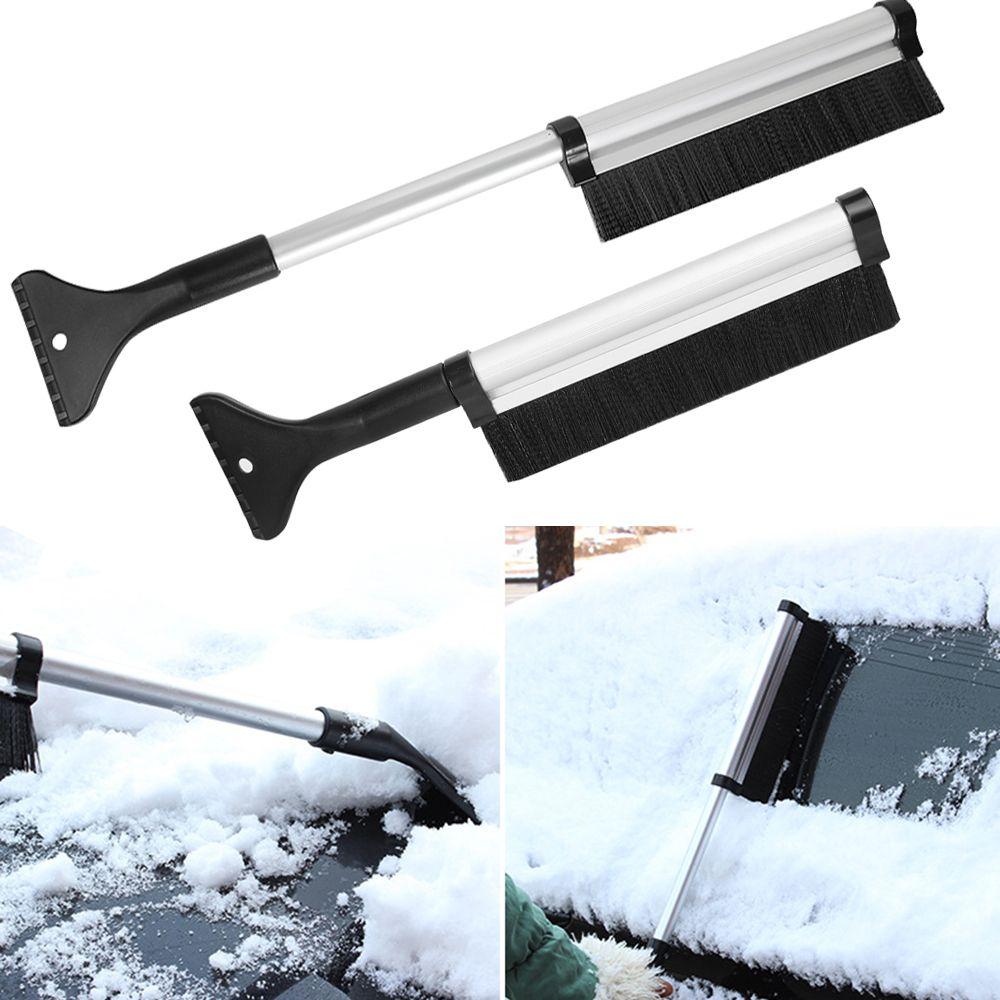 الشتاء سيارة الجليد مكشطة الثلوج فرشاة سيارة نافذة إزالة أداة نظيفة متعددة الوظائف للتمديد سيارة مركبة الثلوج فرشاة الجليد و مجرفة