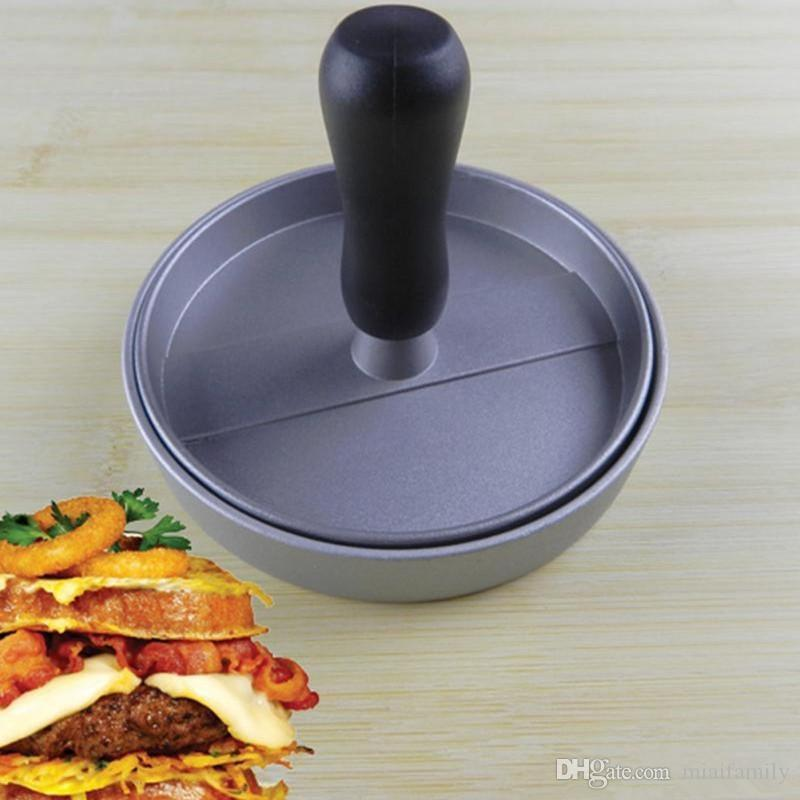 Hamburger Meat Filling Press Dispositivo polpettone manuale DIY Hamburg Making Home Restaurant Utensili da cucina Spedizione gratuita