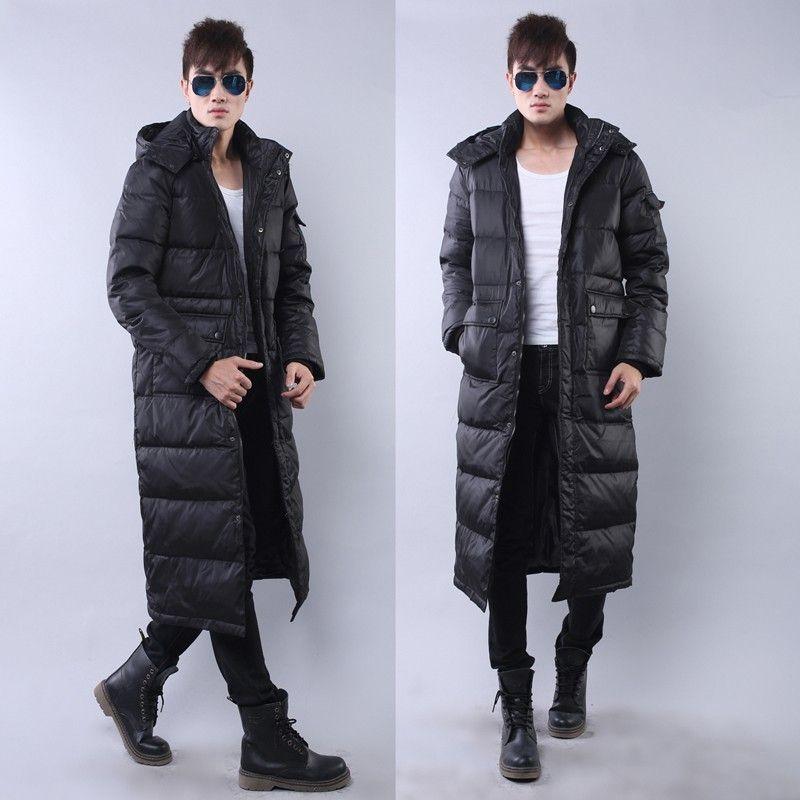 b8ddfba8ef6 Winter Plus Size X Long Design Thick Men Coat Male Hat Detachable Big Size  Women Outerwear S 2XL 3XL Extra Long Down Jacket Canada 2019 From Primali