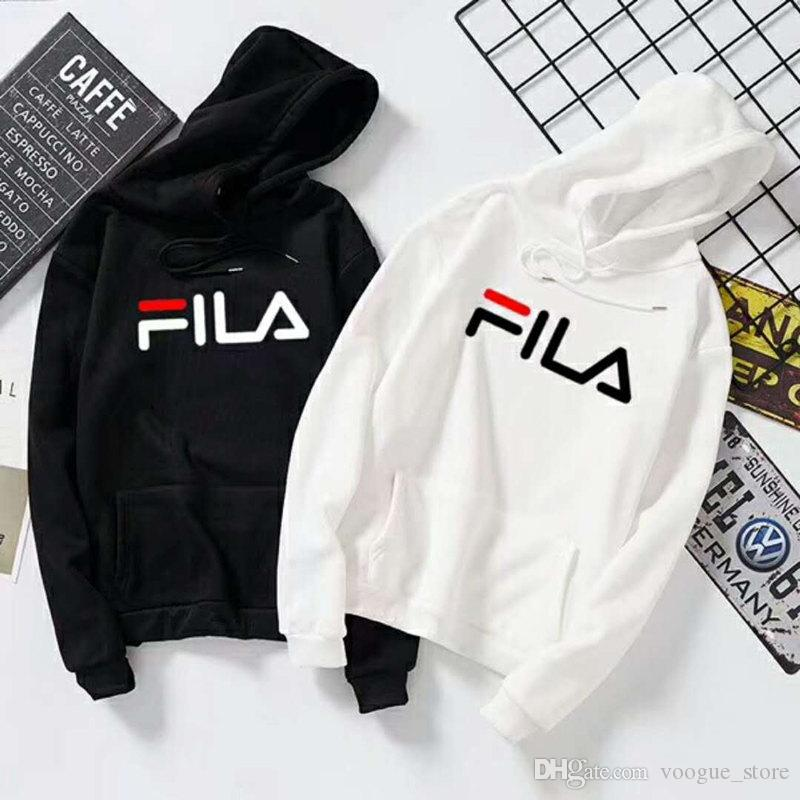 2019 Tie Brand Casual Women S And Men S Hoodies Logo Print Solid Color  Hooded Hoodies Autumn Couples Sweatshirts Oversize Sweater For Men Women  From ... 784f7dede