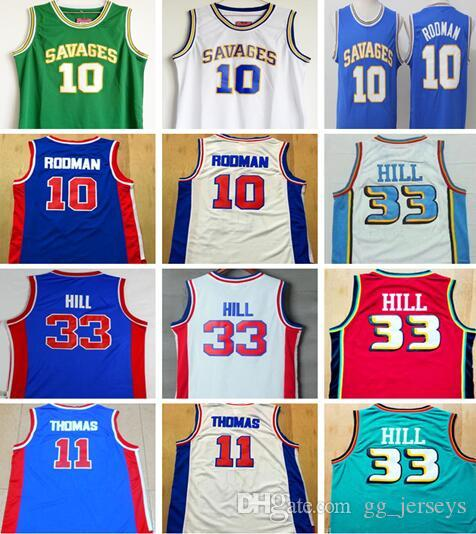 NCAA Wholesale Men s Retro Shirt  10 Dennis Rodman Jerseys e913b1ba1
