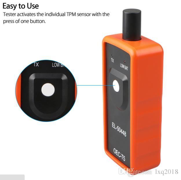 EL-50448 herramienta de reinicio de TPMS herramienta de reaprendizaje Sensor de presión de neumático automático para Chevrolet vehículo GM