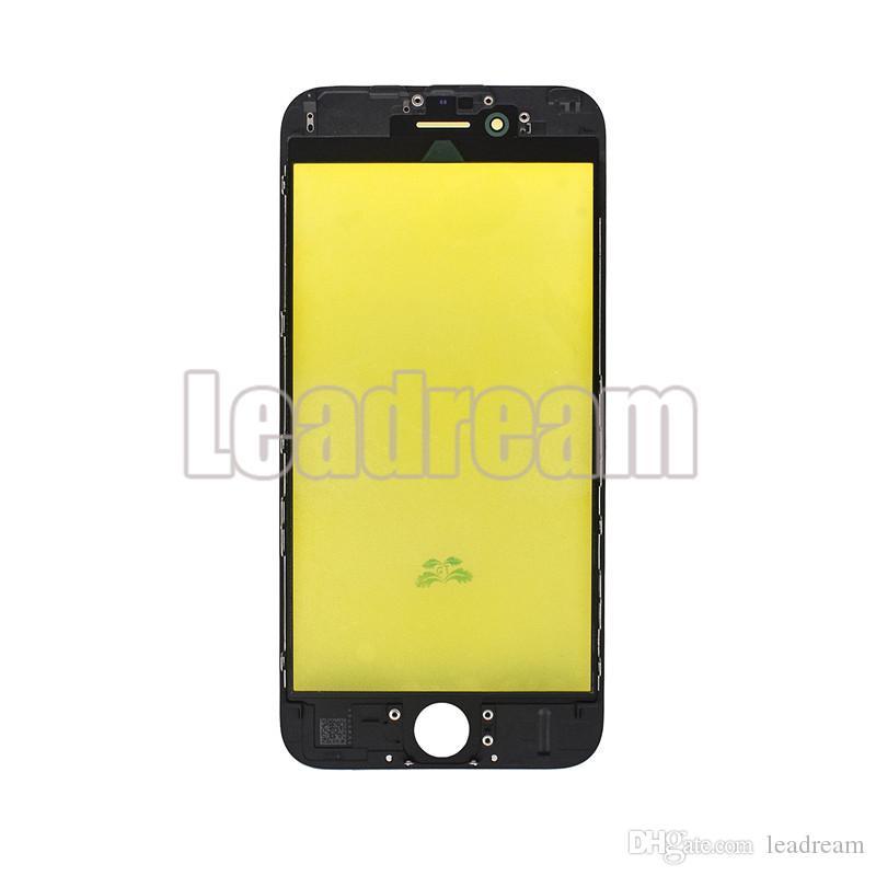 Nouvelle arrivée OEM avant lentille en verre à écran tactile avec cadre pour iPhone 5 6 Plus 6s Plus 7 8 Plus DHL gratuit