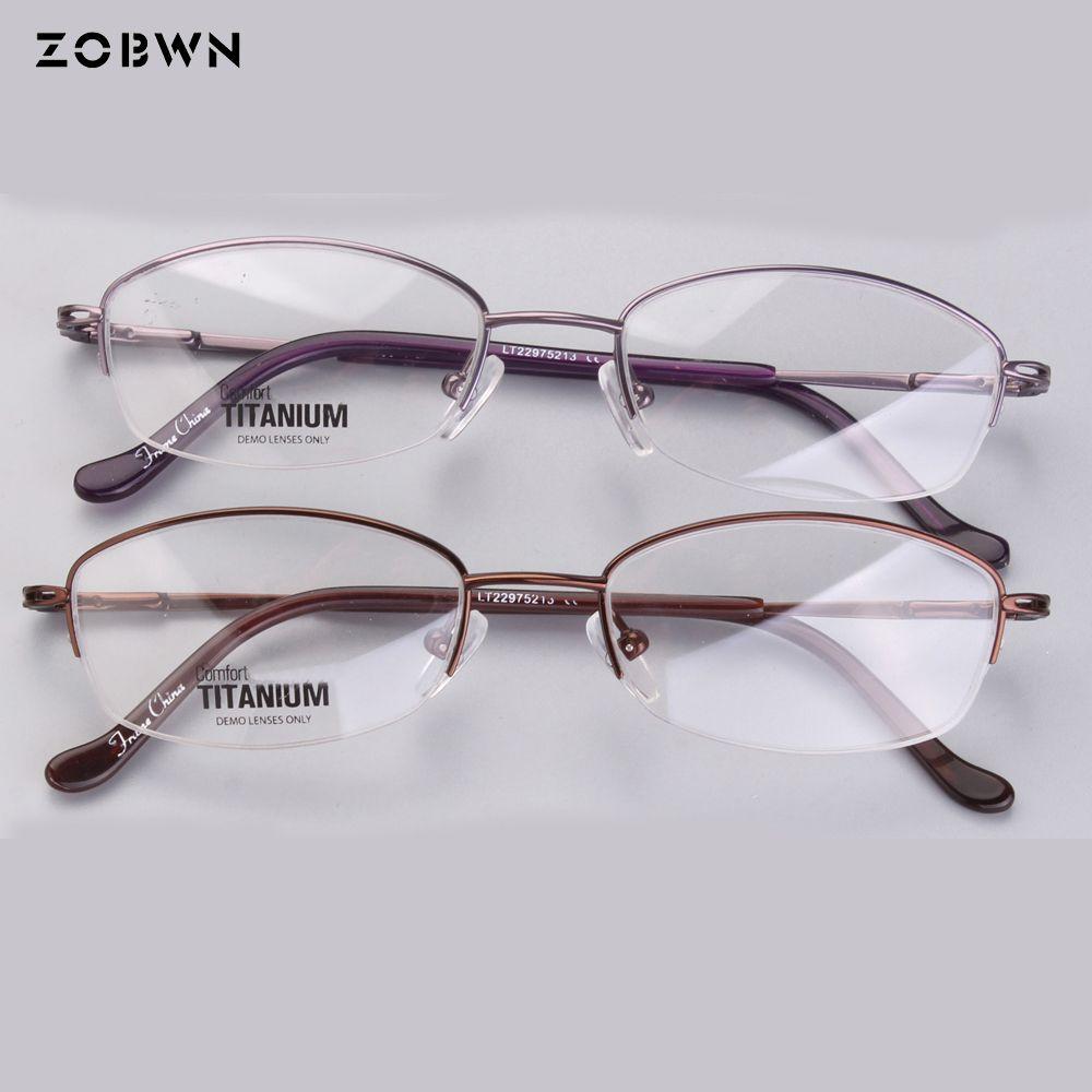 f85a23131219 2019 ZOBWN Titanium Yellow Eyeglass Frames Rimless Eyeglass Titanium Optical  Frame Stepper Frames From Zaonoodle