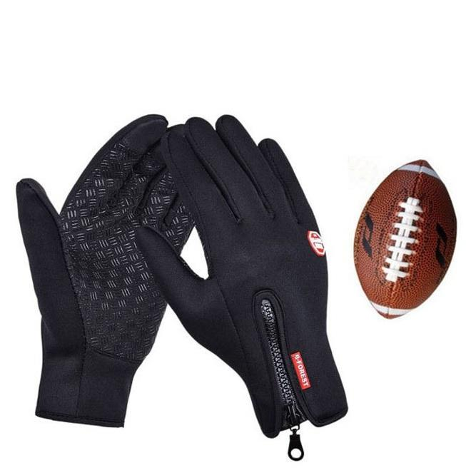 941d75dc3 2019 Sports Receiver Glove American Football Gloves Rugby Gloves Hiking  Waterproof From Peachguo