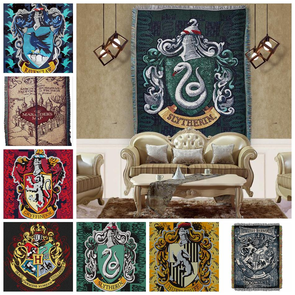 Acheter Harry Potter Tapisserie 13 Styles Badge Glands Tapis