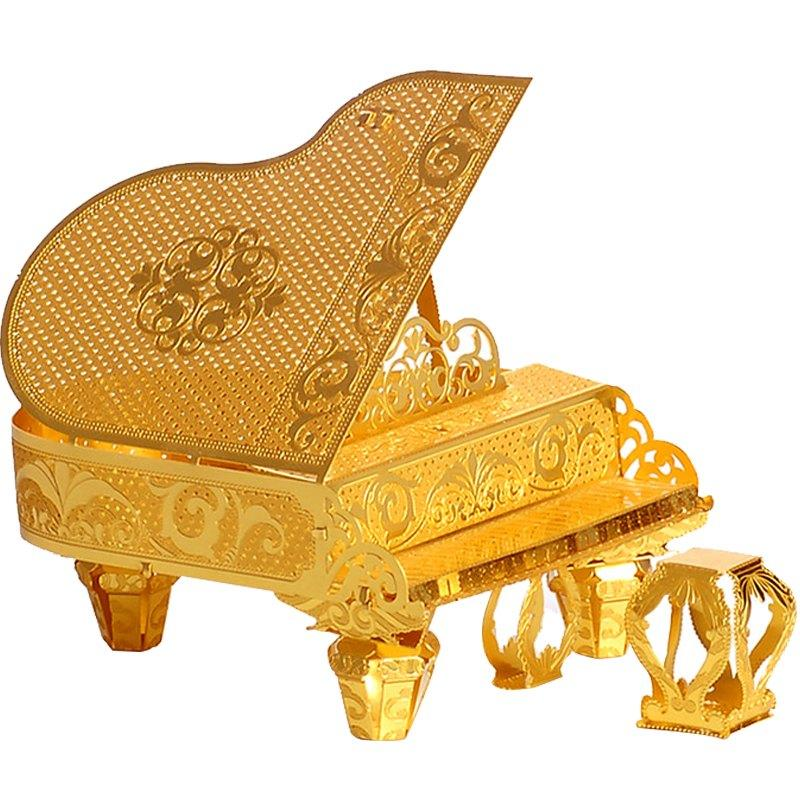 Bricks Toys 3D Metal Nano Puzzle Grand Piano Model Kits P024 G DIY Laser Cut  Assemble Jigsaw Puzzle For Educational Gifts Building Sets For Boys Large  ... 3ccbd3ee890a