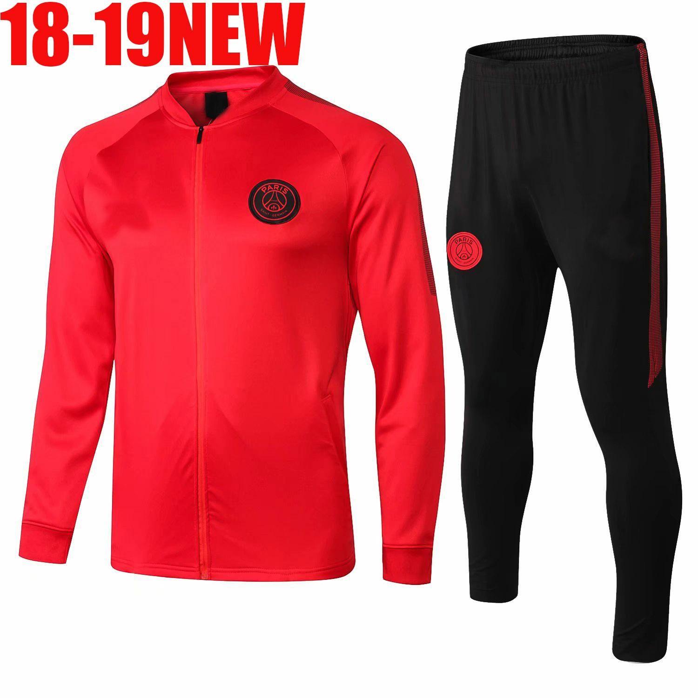 AAA+ PSG Paris Saint Germain FR Soccer Jerseys 18 19 Training Suit  Tracksuit MBAPPE Marseille Football Shirt Jacket 2018 2019 Adult Kit Sets  UK 2019 From ... 875456a39