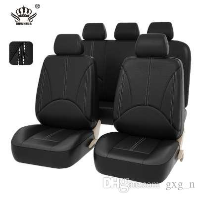 New Car Seat Covers Pu Leather Material Made By The Seat Covers