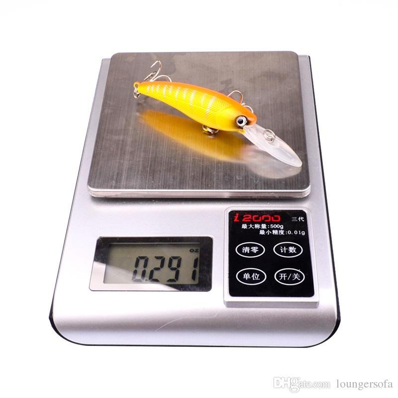 Vivid Fish Shape Hard Bait Hollow Body Tight Baits Ultra Far Throw Plastic Fishing Lure Hot Sale 2sb UU