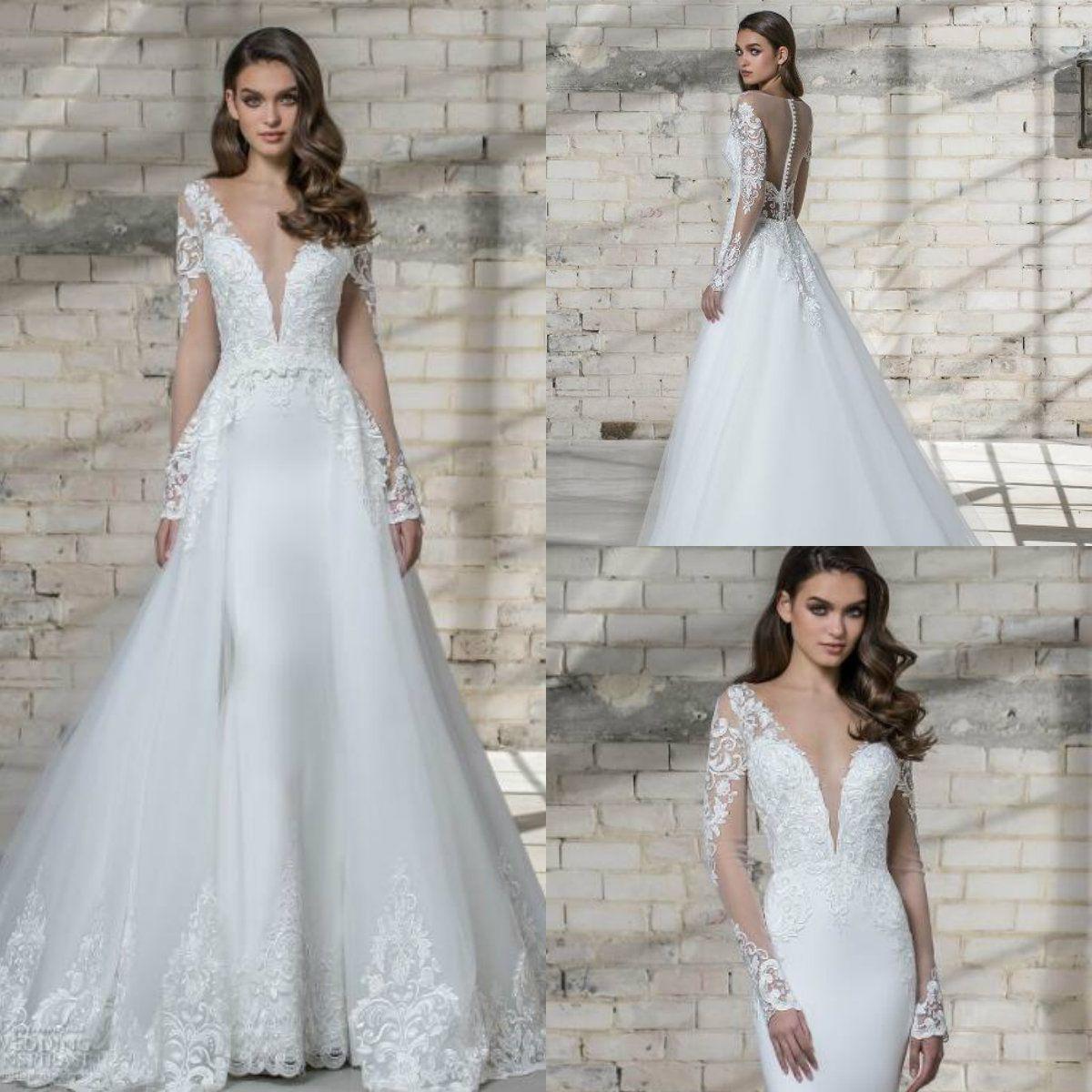 Pnina Tornai Wedding Dresses 2019: Acheter Élégante Robe De Mariée Deux Pièces Pnina Tornai