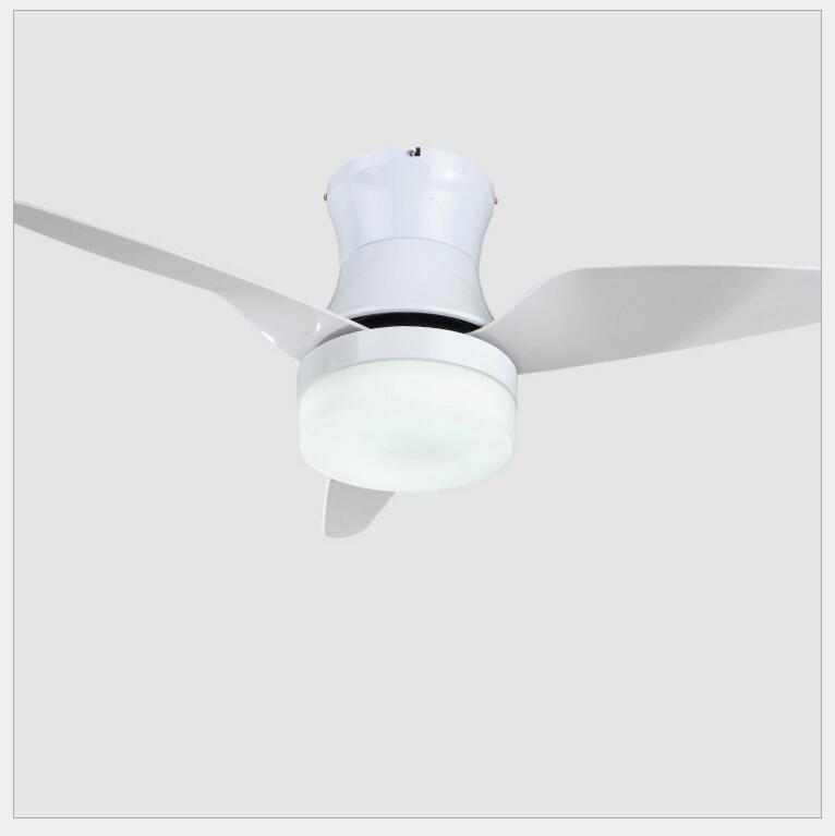 Modern Dining Room 220v Led Ceiling Fan Lamp Restaurant Kitchen Creative With Lights Home Lighting Fixtures Fans