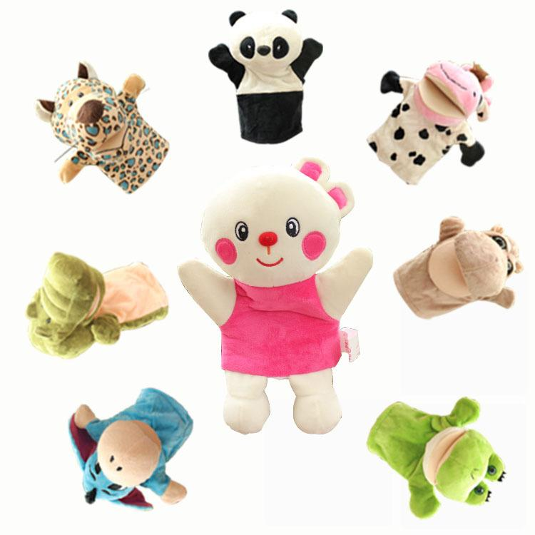 Cartoon Animal Hand Puppet Children S Educational Toy Mouth Can Move