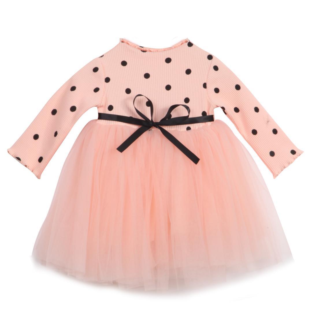 Großhandel Nette Neugeborene Kinder Babys Mädchen Kleidung Langarm ...