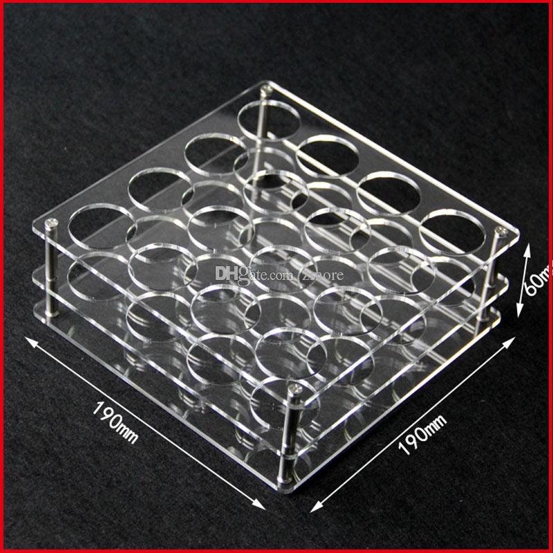 60ml Bottle E Liquid Bottle Display Racks Ecig Cear Acrylic Display Stands Showcase Holder For 60ml Bottles Show Shelf Case