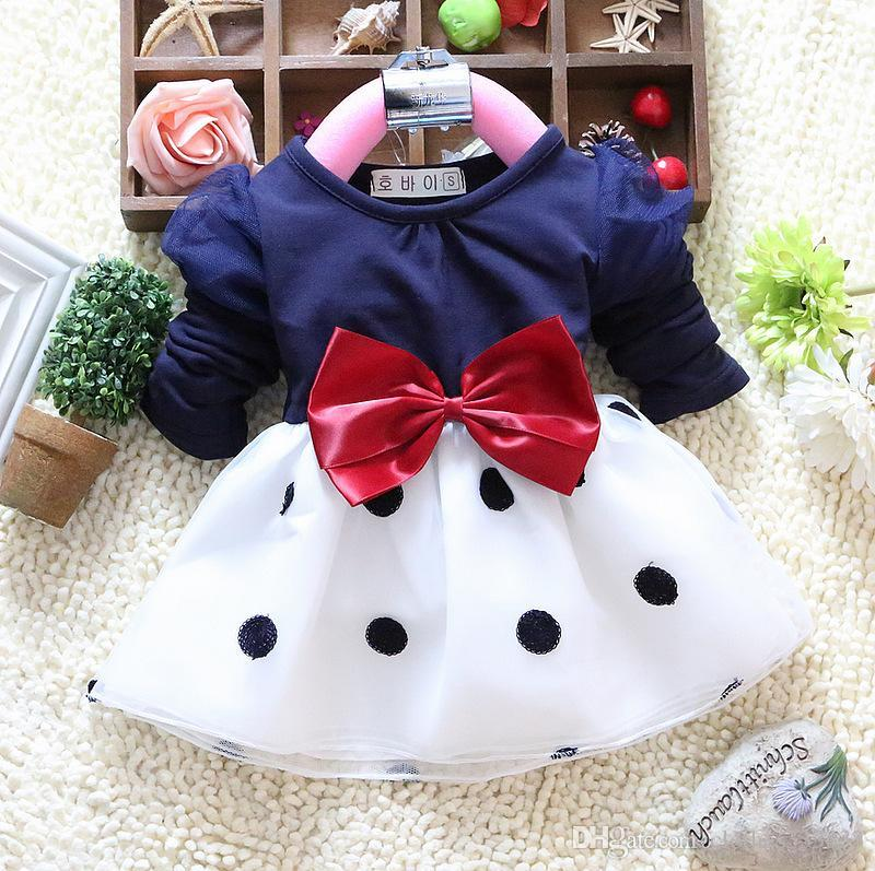 2018 new style girl's dress children's clothing 2-7 years kid's dress 6pcs/lot one lot have size 2-6 each size free shipping